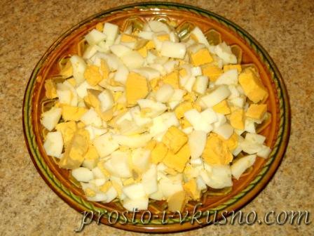 вкусный салат с крабовыми палочками слоеный рецепт с фото