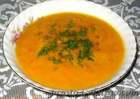 Суп-пюре из тыквы с фото 10
