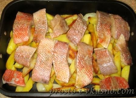 Запеканка из рыбы с овощами 11