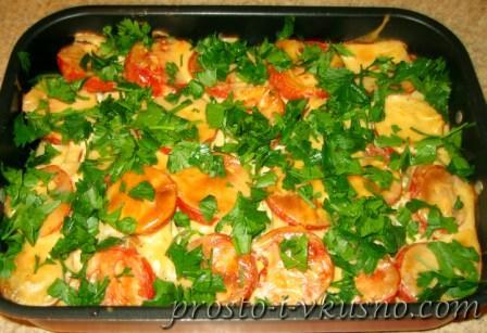 Запеканка из рыбы с овощами 14