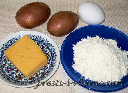 Ингредиенты для клецок