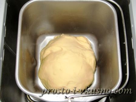 Тесто для вареников и пельменей в хлебопечке