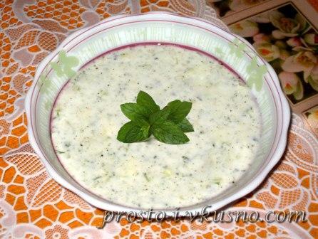 Джаджик - холодный турецкий суп