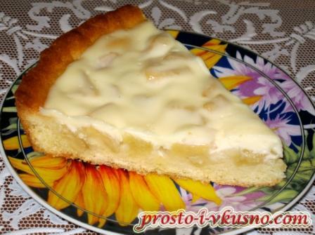 Песочное тесто на сметане для пирога