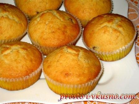 рецепты маффинов с лимоном в духовке