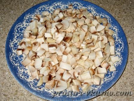 рецепт блюд с грибами шампиньонами