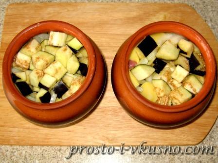 приготовления картофеля в горшочках рецепт