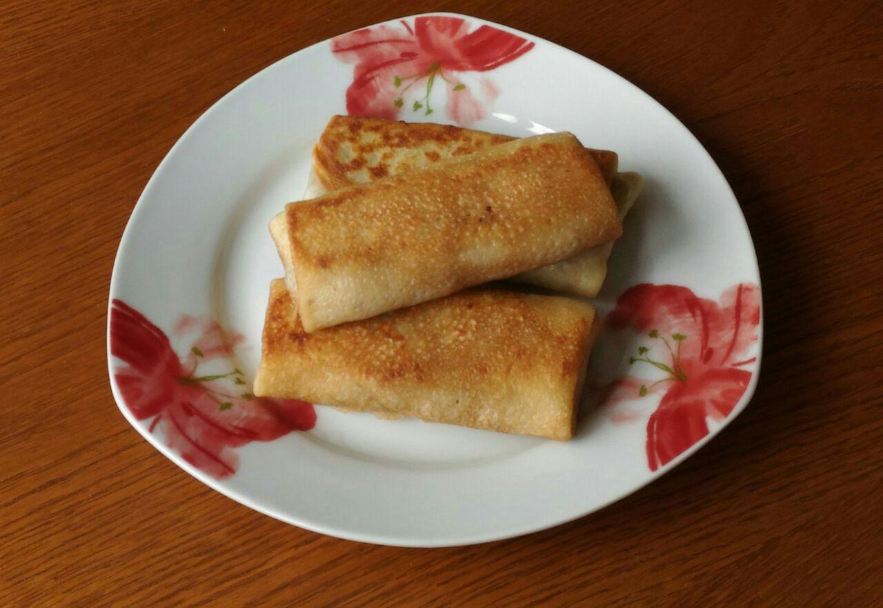 Блинчики с рисом и фаршем фото рецепт пошаговый
