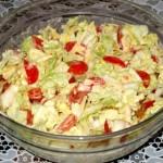 салат из китайской капусты 7