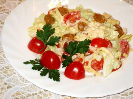 салат из китайской капусты