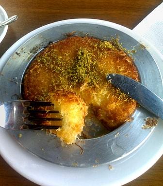 Турецкая кухня. Кюнефе