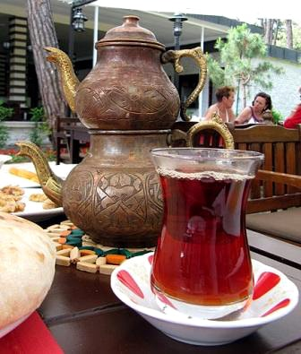Турецкая кухня. Яблочный чай