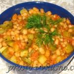 Пикантная фасоль с овощами 01