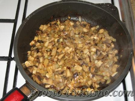 Кальмары, фаршированные грибами 07