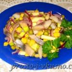 Салат из сельди с яблоком и луком 01