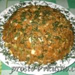 Салат с печенью и овощами 01