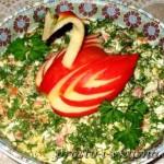 Салат с семгой или форелью 01