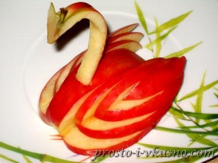 Салат с семгой или форелью