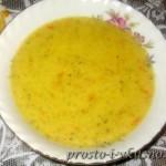Крем-суп с сыром и брокколи 01