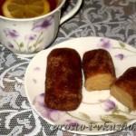 Пирожное картошка из печенья 01