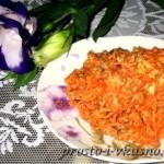 Салат из тунца с морковкой и сыром 01