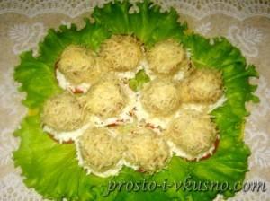 Закусочные шарики с печенью трески рецепты