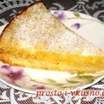 Лимонный пирог из песочного теста 01