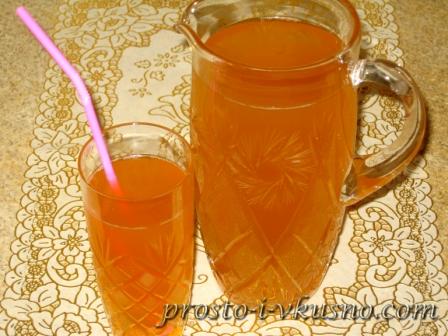 Вкусный турецкий лимонад
