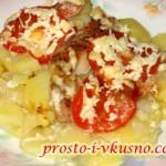 1Морской окунь с картошкой в духовке