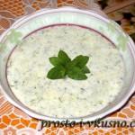1 Джаджик - холодный турецкий суп