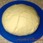 1 Тесто для пиццы в хлебопечке