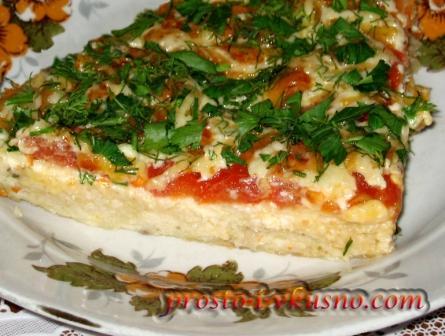 Пицца на курином фарше