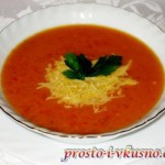 1а Томатный суп-пюре