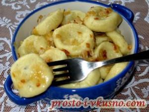 Вареники с картофелем пошагово с фото