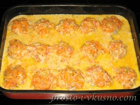 Голубцы ленивые в духовке с подливкой рецепт с пошагово