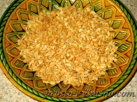 Измельченные орехи