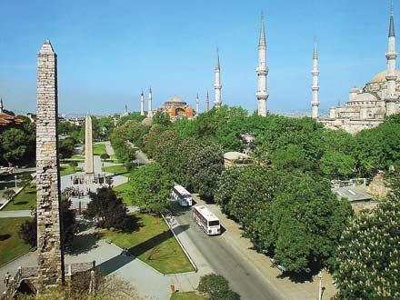 Площадь Ипподром Стамбул