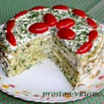Торт из кабачков в разрезе