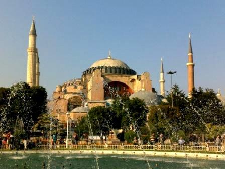 Мечеть Айя-Софья (собор Святой Софии)