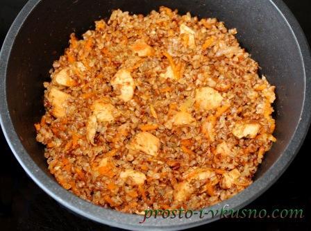 салат из печени куриной с грибами рецепт
