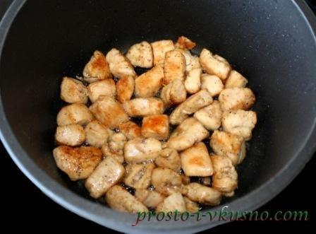 рецепт курицы со сметаной с фото в духовке