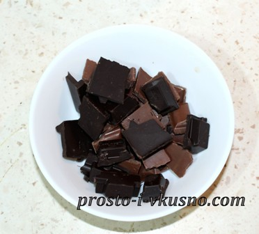 Поломанный шоколад