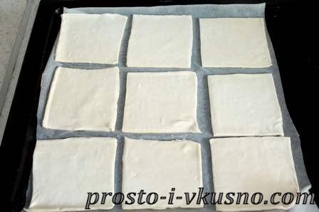 Размораживаем слоеное тесто