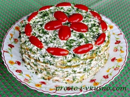 Кабачковый торт