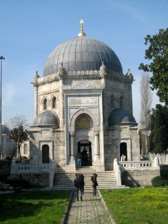 Мечеть Эйюп Султан и кафе Пьера Лоти