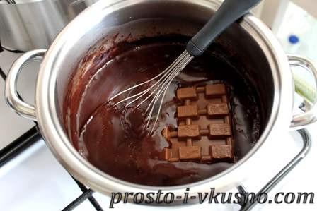 Добавляем шоколад
