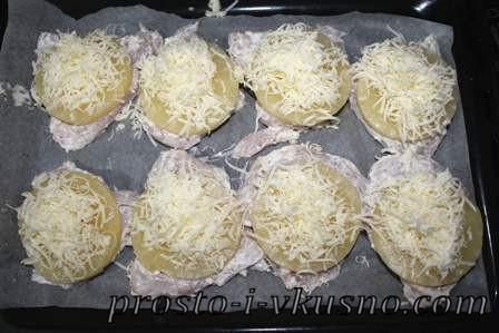 Трем сыр поверх ананаса